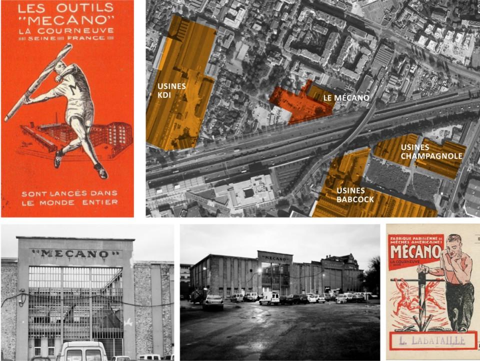 Le passé industriel du Mécano / Industrial past of Mecano